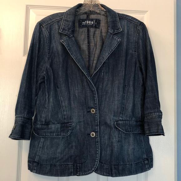 GAP Jackets & Blazers - Gap denim blazer - Size L